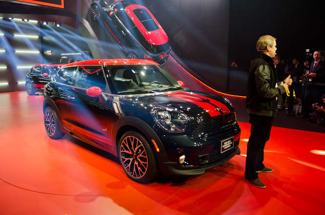 2014 MINI John Cooper Works Paceman Preview: 2013 Detroit Auto Show