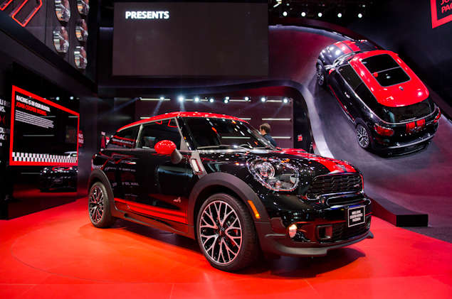 What's New for the 2014 MINI John Cooper Works Paceman: