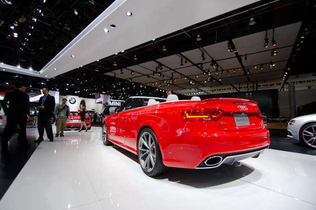 New 2013 Audi RS 5 Cabriolet Preview: Detroit Auto Show