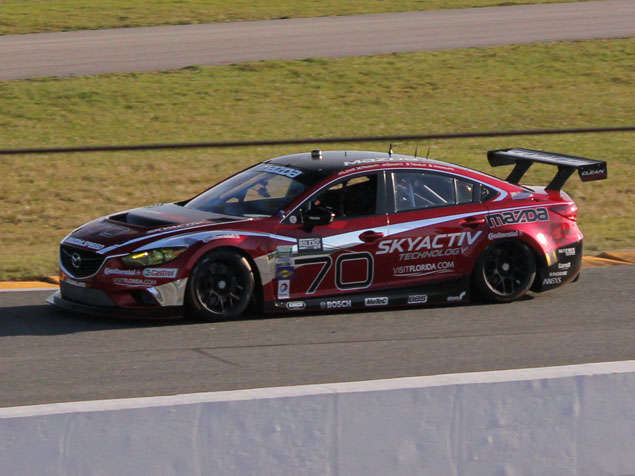 2014 Mazda Mazda6 Racers Endure Challenging Diesel Debut at Daytona