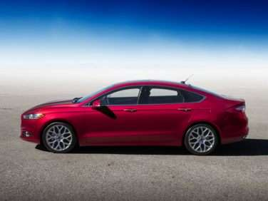 2013 Ford Fusion Earns Five-Star Safety Score from NHTSA