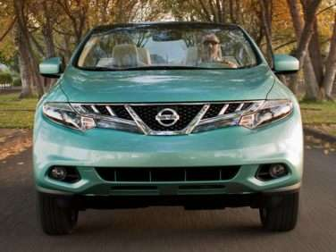 2014 Nissan Murano CrossCabriolet Drop-top Drops $2,545 from its MSRP