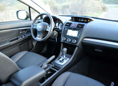 2013 Subaru Impreza Road Test and Review: Features and Controls