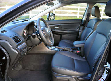 2013 Subaru Impreza Road Test and Review: Comfort and Cargo