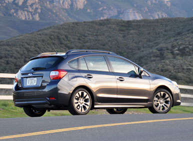 2013 Subaru Impreza Road Test and Review: Design