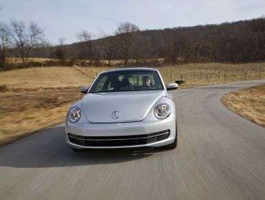 2013 Volkswagen Beetle TDI: Driving Impressions