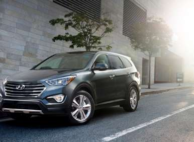 2013 Hyundai Santa Fe Heads to Market Priced from $28,350