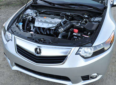2013 Acura TSX Road Test and Review: Engine and Fuel Economy
