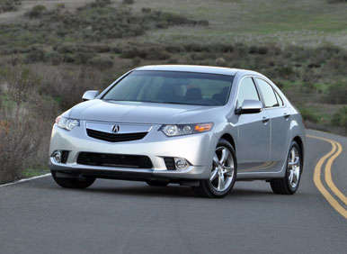 2013 Acura TSX Road Test and Review: Driving Impressions