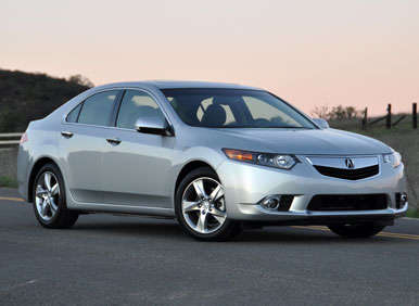 2013 Acura TSX Road Test and Review: Models and Prices
