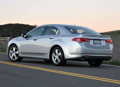 2013 Acura TSX Road Test and Review: Design