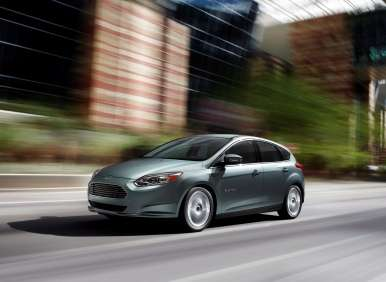 2013 Ford Focus Electric Earns Five-star Overall Safety Score from NHTSA