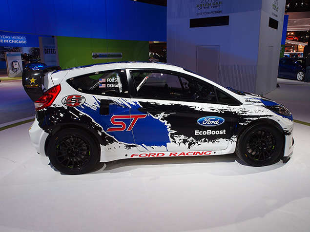 Ford Renews Committment To Global RallyCross Series At Chicago Auto Show