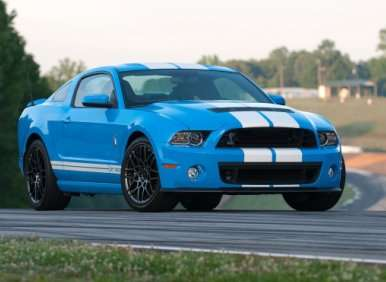 10.  The 2013 Ford Shelby GT500 Is The Final Piece of Carroll Shelby's Legacy
