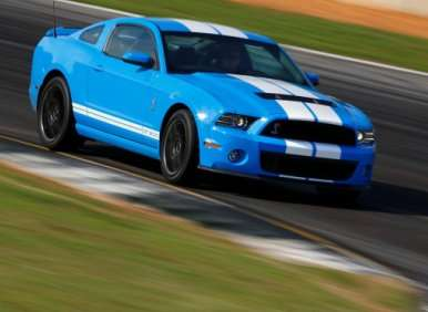 07.  The 2013 Ford Shelby GT500 Debuts Track Apps