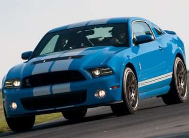 06.  The 2013 Ford Shelby GT500 Offers Several Options Packages
