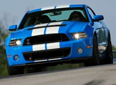 04.  The 2013 Ford Shelby GT500 Features A Six-Speed Transmission   00