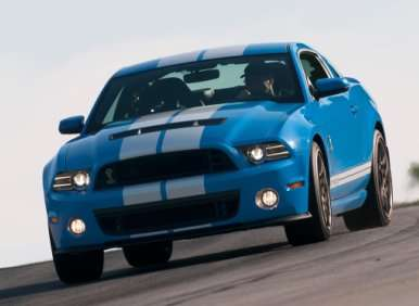 03.  The 2013 Ford Shelby GT500 Comes With A Launch Control System