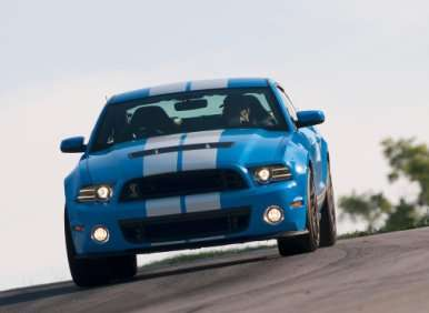 02.  The 2013 Ford Shelby GT500 Is The Most Powerful Mustang Ever