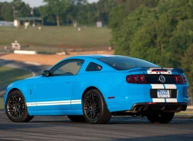 01.  The 2013 Ford Shelby GT500 Offers Revised Styling