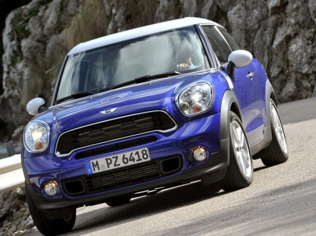 2013 MINI Cooper Paceman Road Test & Review: Models & Prices
