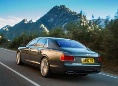 2014 Bentley Flying Spur: Luxury Highlights