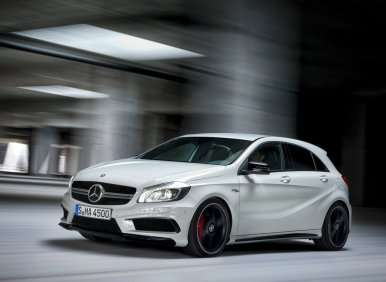 Geneva Motor Show: Meet the Mercedes-Benz A 45 AMG