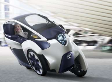 Geneva Motor Show: Toyota i-ROAD is a Segway, Can-Am Spyder, and Smart ForTwo Mash-up
