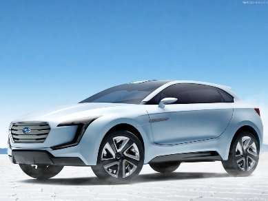 Geneva Motor Show: Subaru VIZIV Concept Is a Vision of Innovation