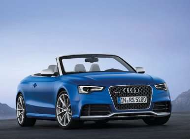 Audi Announces Pricing For The 2014 RS 5 Cabriolet