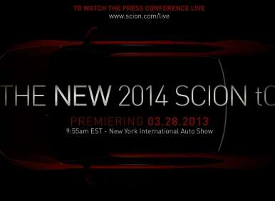 New York Auto Show: Scion Announces The Debut of The 2014 tC