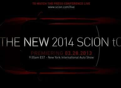 New York Auto Show: Scion Announces The Debut of The 2014 tC