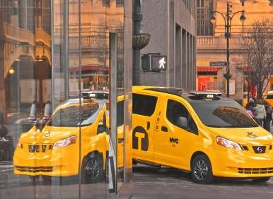 New York Auto Show: Nissan NV200 Mobility NY Taxi