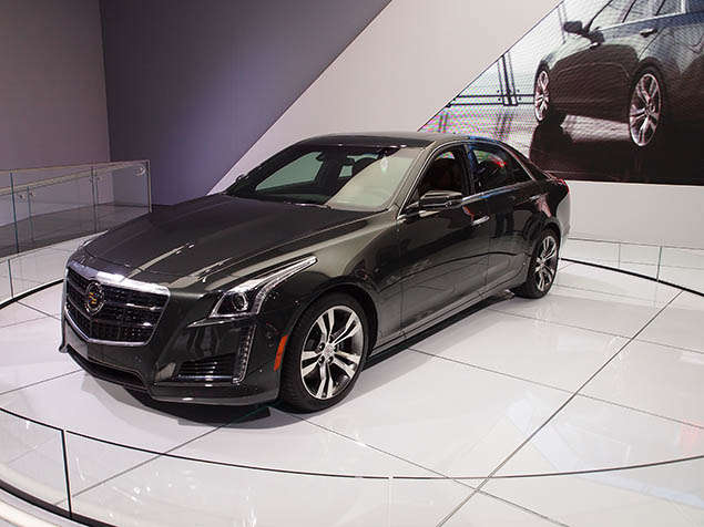 2014 Cadillac CTS Preview: New York International Auto Show