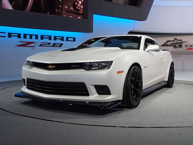 2014 Chevrolet Camaro Z/28 Preview: New York International Auto Show