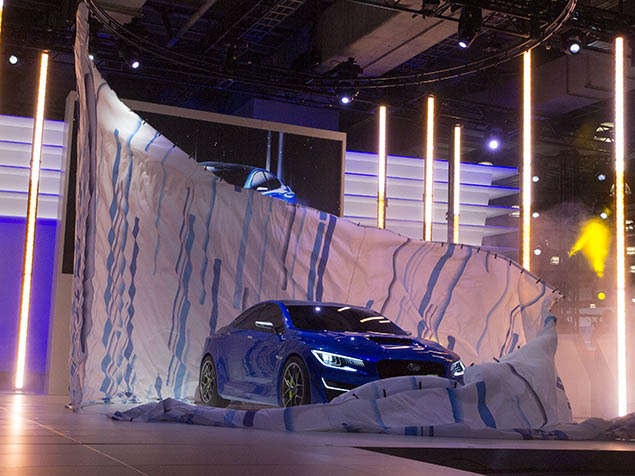 Subaru WRX Concept Preview: New York International Auto Show