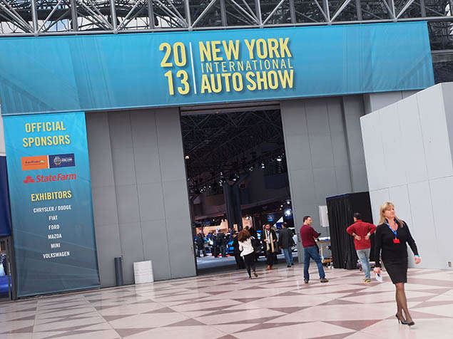 2013 New York Auto Show in Pictures