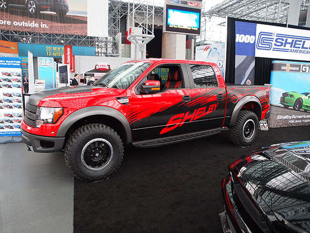 Pictures: 2013 Shelby Raptor at the New York Auto Show