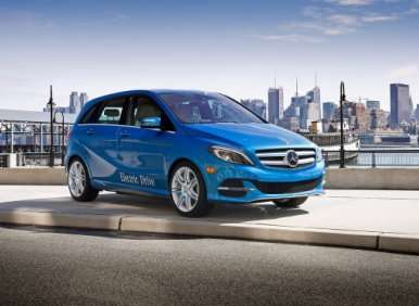 2014 Mercedes-Benz B-Class Electric Drive Preview: 2013 New York Auto Show