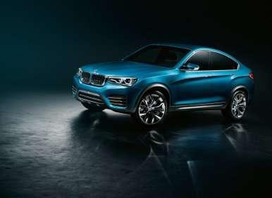 Auto Shanghai 2013: BMW X4 Concept Downsizes X6