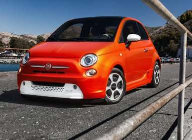 2013 Fiat 500e: Lease at Launch for $199 per Month