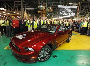 Ford's Flat Rock Plant Builds One Millionth Mustang