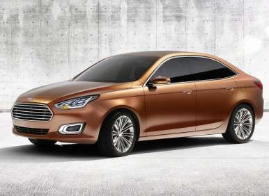 Shanghai Motor Show: Ford Goes Back To Basics With The Escort Concept