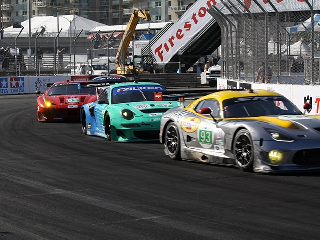 Photos american le mans series at the long beach grand for Prix m2 le mans