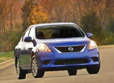 2014 Nissan Versa Sedan: Still the Low-Cost Leader