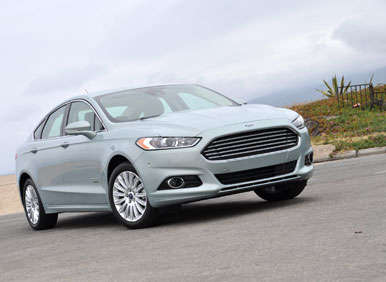 2013 Ford Fusion Energi First Drive