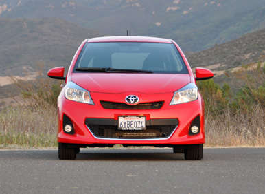 2013 Toyota Yaris Road Test and Review