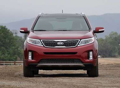 2014 Kia Sorento Road Test and Review