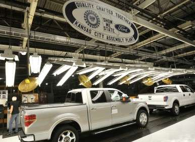 Ford To Add More Than 2,000 Jobs At Its Kansas City Assembly Plant