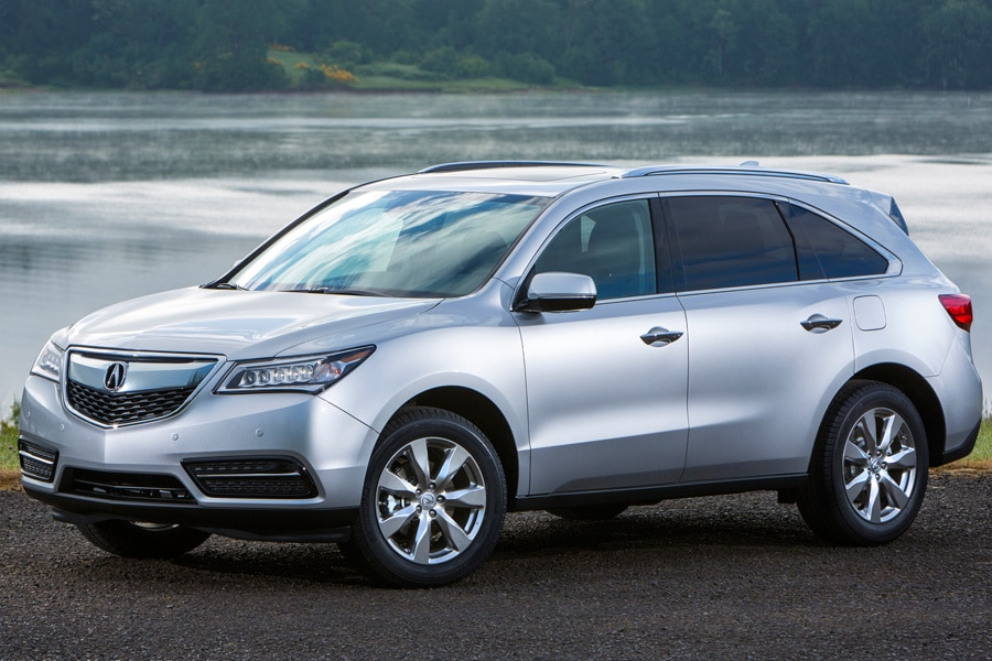 2016-Acura-MDX-front-34-silver